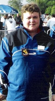 Nathalie Bujna (Capdenac) première féminine