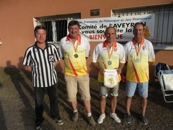 Champ. Départemental Triplette Jeu Provençal