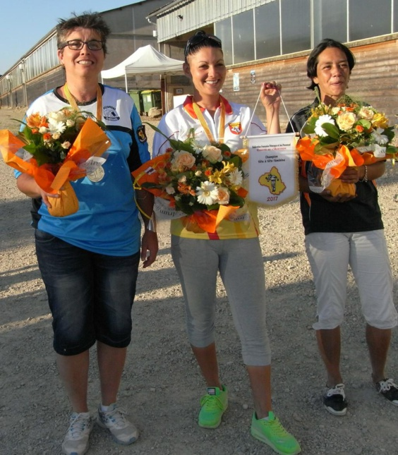 Championnat Tête à tête féminin - Doublette seniors