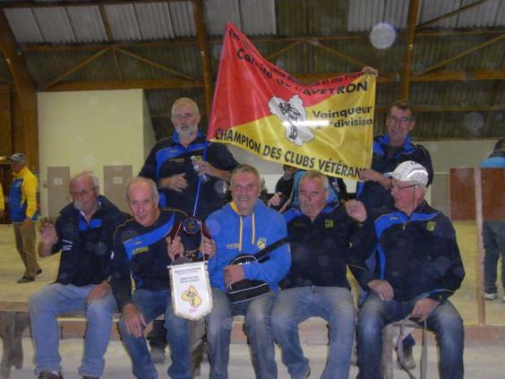 Champion CDC Vétérans D2
