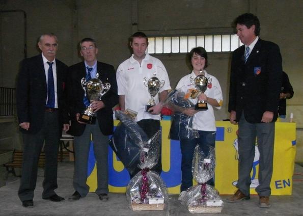 Champions de Ligue Doublette mixte 2009