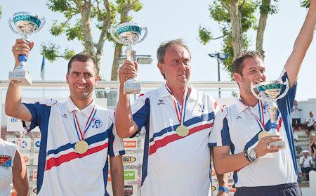 Christophe SEVILLA, James et Jérémie DARODES champions 2011