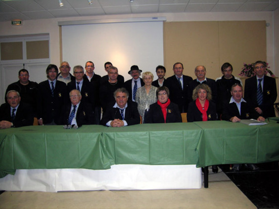Les membres élus