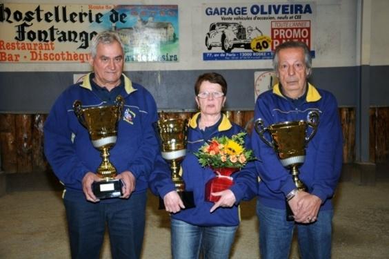 Les Vainqueurs  2013, A. Delagnes, Claudette Alonso, JL Alonso