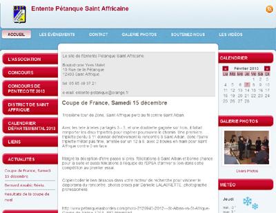 Le site de l'EPSA