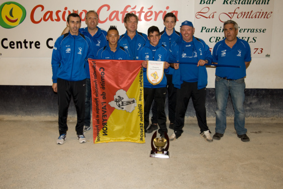 JP Capdenacoise Champion division III