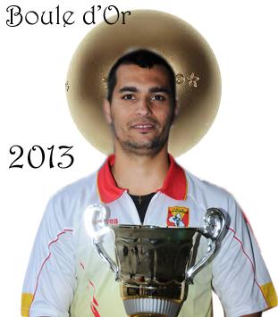 Samuel SANTOS Boule d'Or 2013 (photo d'archive)