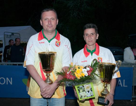 40me championnat de l'Aveyron Doublette mixte