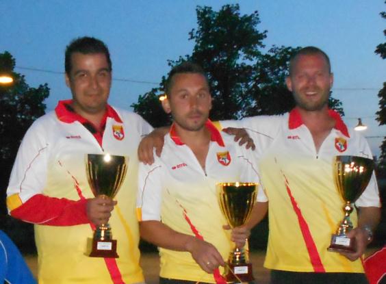 3ème Championnat de l'Aveyron triplette Jeu Provençal