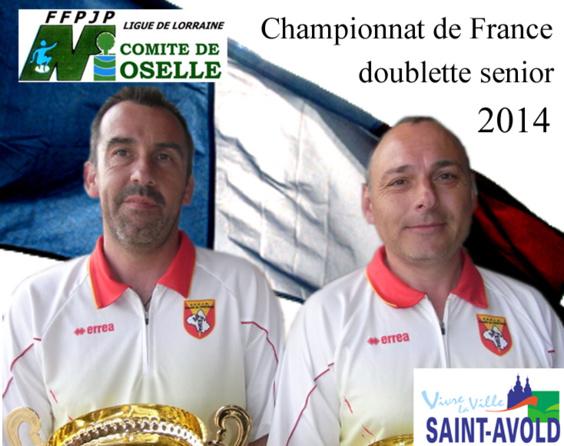 Championnats de France TTF et DS 2014