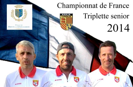 Championnat de France triplette et triplette promotion