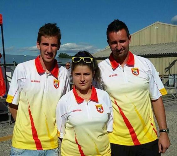 35me championnat de l'Aveyron triplette mixte
