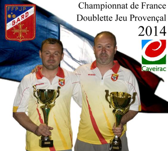 38me Championnat de France Doublette Jeu Provençal