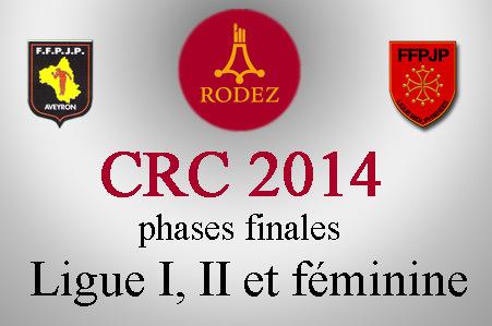 CRC 2014 Divisions I, II et féminine