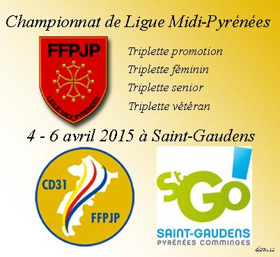 Championnats de Ligue 2015 St-Gaudens