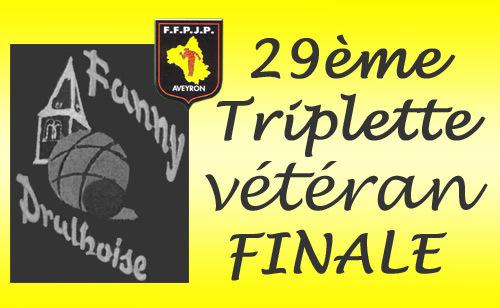 29me Triplette vétéran - finale-