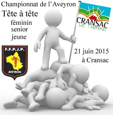 Championnat de l'Aveyron Tête à tête