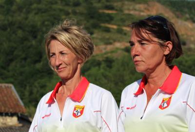 France Doublette féminin et Tête à tête masculin