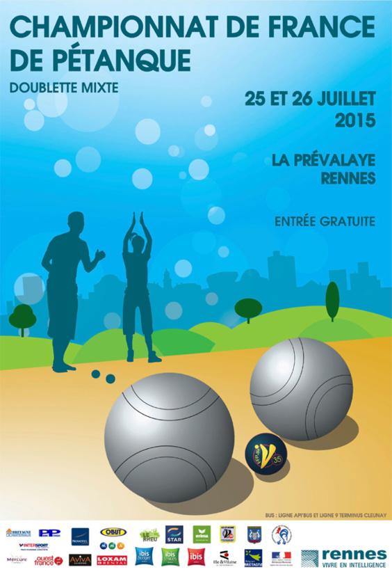 21me Championnat de France Doublette mixte