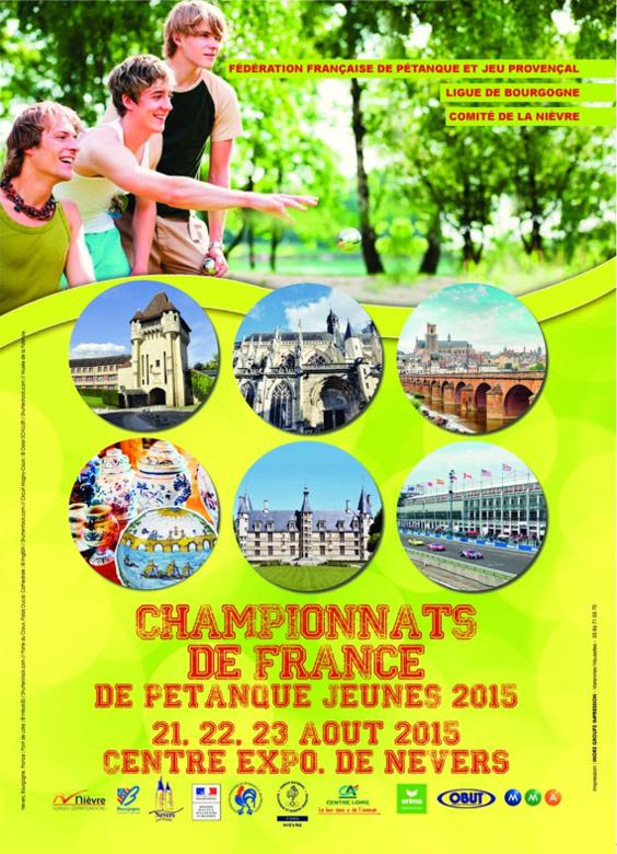 Championnats de France Triplette jeune