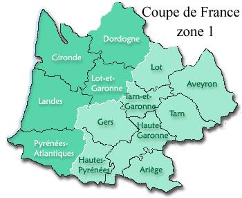 Coupe de France 1er tour zone 1 Aquitaine/Midi-Pyrénées