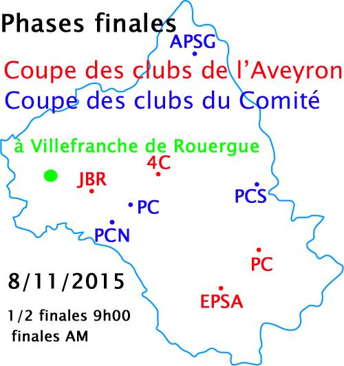 CDC de l'Aveyron et du Comité - phases finales -