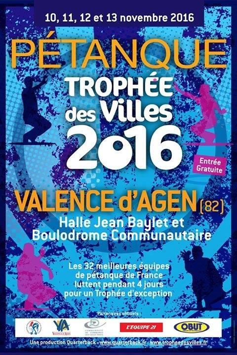 Trophée des villes 2016