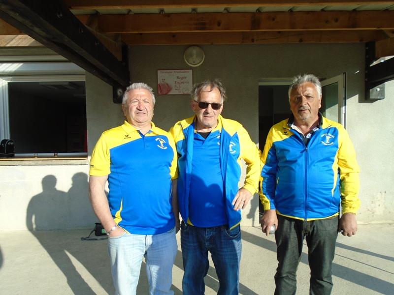 Qualificatif triplette vétérans