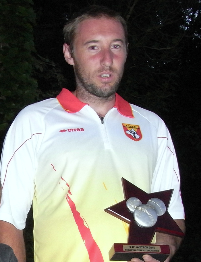 Fabrice Caulet Champion 2015