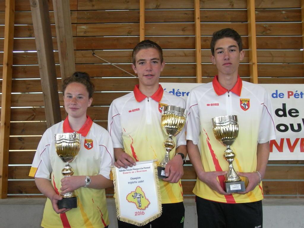 Champions Cadets 2016