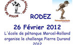 Challenge Pierre Durand 2012 (maj 28/02)
