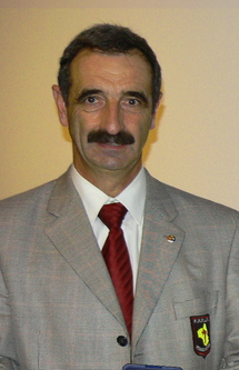 Michel Gantou Président du Comité de l'Aveyron