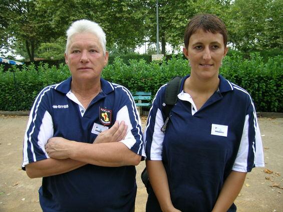 Suzanne Vigouroux et Stéphanie Martin (Le Monastère) demi-finalistes à Revel