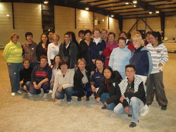 La délégation féminine aveyronnaise à Aurillac