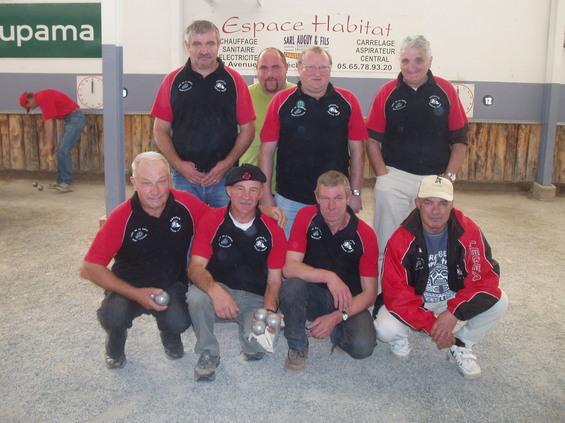 L'équipe de Ste Geneviève II finaliste en Division 2
