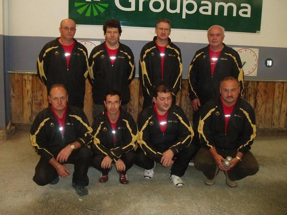 L'équipe de Maleville II finaliste en Division 3