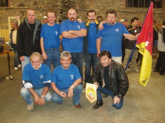 L'équipe de la Fraternelle Pétanque Le Gua vainqueur en Division 3