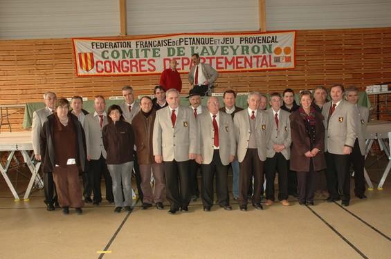 Les nouveaux membres élus du Comité de l''Aveyron