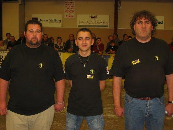 Les vainqueurs du Concours A : Maison Durk, Stéphane Delforge et Alain Phalippot (81)