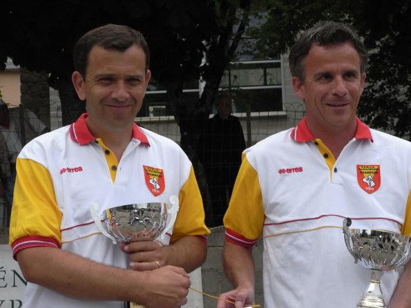 Laurent Morillon - Jean pierre Mas (Creissels) Champions 2009