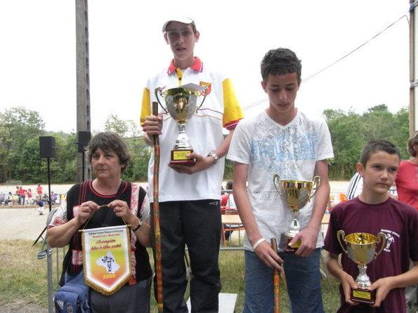 Championnat Tête à tête 2009