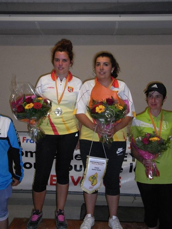 Championnat doublette féminin - Tête à tête seniors