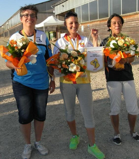 Le podium féminin