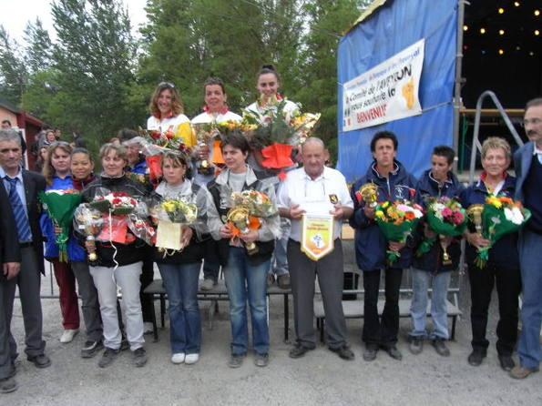 Championnat de France Triplettes Féminines à Beaucaire
