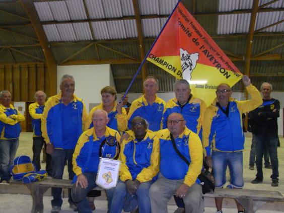 Champion CDC Vétérans D3