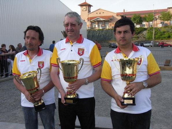 CHAMPIONNAT TRIPLETTE: les Résultats et les photos des podiums