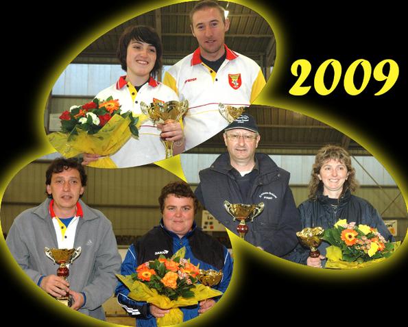 Le podium 2009 (photos JC Savoyant)