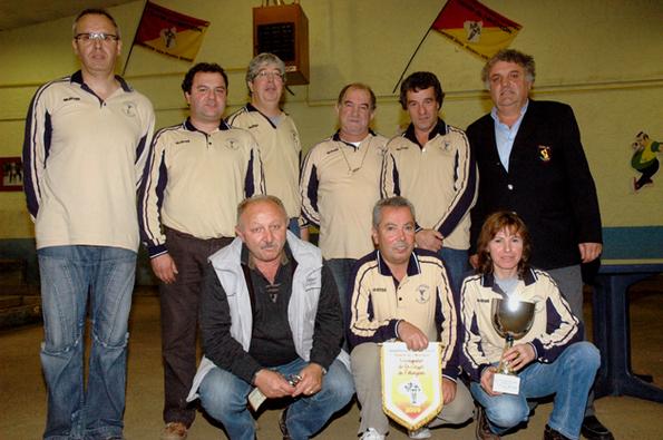 Les 4-Saisons vainqueurs de la saison 2009/2010