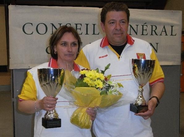 Berroche Patricia - Campredon Patrick Champions 2010