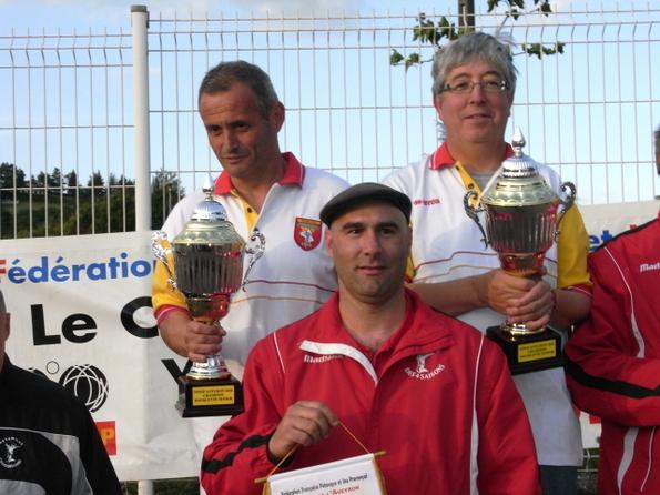 Championnat d'Aveyron doublette : Les résultats
